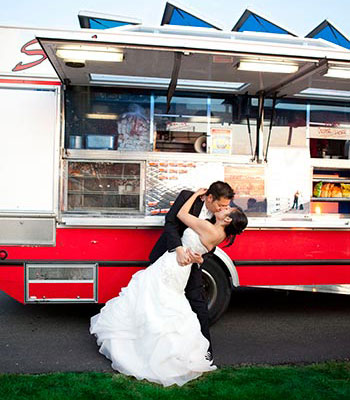 wedding catering at your location