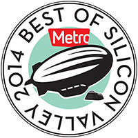 2014 Best Food Truck Award by Metro's The Best of Silicon Valley