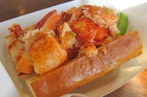Sam's Lobster Roll Sandwich
