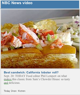 NBC News Video - Best sandwich: California lobster roll?